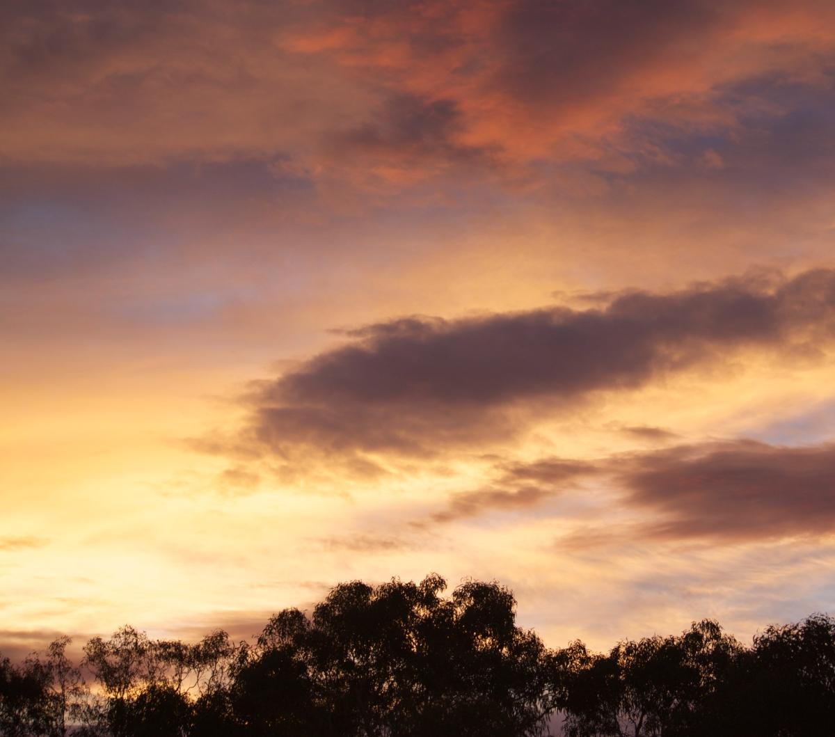 Sunrise in Aranda