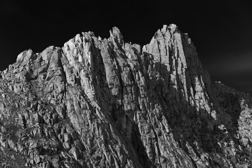 Peaks in Kvanndalen, Norway